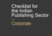 Checklist for the Indian Publishing Sector